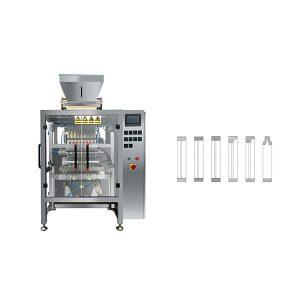 8 لائن ملٹی لائن Sachet چسپاں شوگر پیکنگ مشین