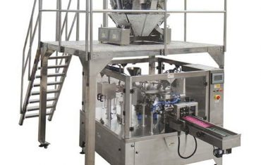 خود کار طریقے سے روٹری خوراک پیکنگ مشین زپ بیگ