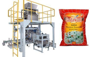 چاول کے لئے بڑے بیگ دانہ دار بھاری بیگ پیکیجنگ مشین